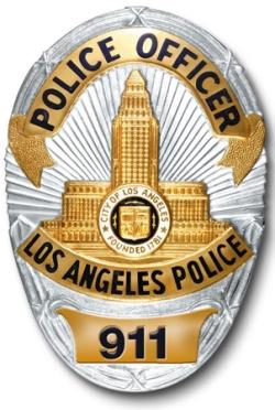 LAPD-badge